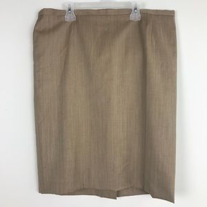 Escada Pure New Wool Career Pencil Skirt